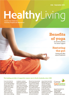 Newsletter design - Healthy Living